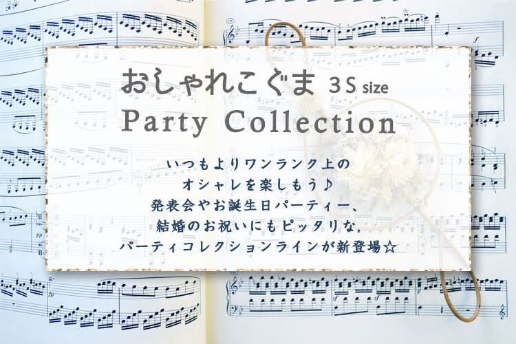 おしゃれこぐまパーティーコレクション 3Sコスチューム